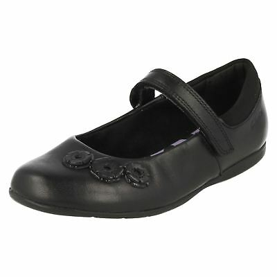 Girls Clarks Mary Jane Style School Shoes *Dance Crush*