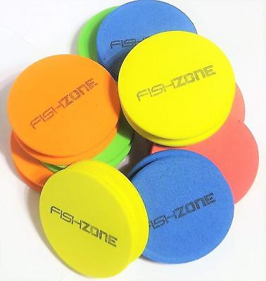 Fishzone Sea Fishing Rig Winders 10 or 20 Pack - Assorted Colours