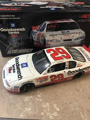 Nascar Kevin Harvick #29 2001 Rookie Car Gm Goodwrench 1:24
