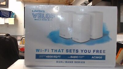 Linksys Velop AC3600 Whole Home Wi-Fi Dual-Band Mesh System