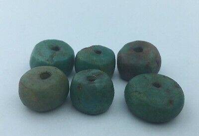 Genuine Amazonite BEAD- Moroccan Berber Ethnic Tribal- 37.8 grams