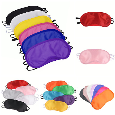 Bulk buy Wholesale Job lot EYE MASKS - Sleep sleeping mask BLACK WHITE PINK BLUE