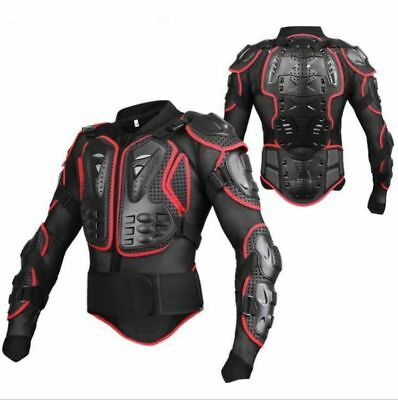 Motorcycle Body Armor Jacket Motocross Back Shoulder Protector For Adult S -4XL