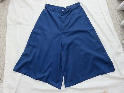 Discounted Vintage Women's Blue Culottes by Time & Time Again