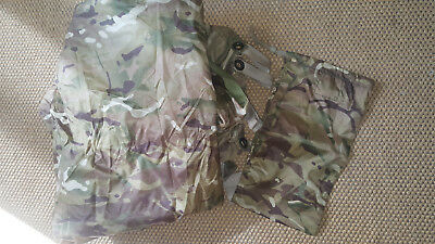 Original British Army shelter sheet / basha, mtp, gebr., top Zustand