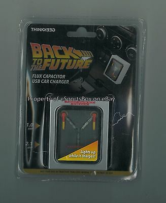 BRAND NEW Back to the Future Flux Capacitor USB Car Charger - SHIPS FREE