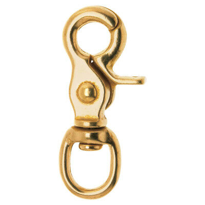 """Campbell T7625504 1/2"""" Swivel Round Eye Trigger Snap"""