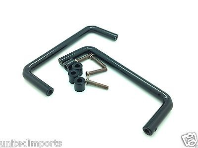 "2U 19"" Rack Mount Handles - Black"