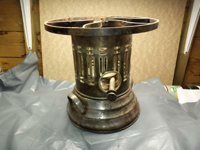 Apex Silver Plate on Brass, Rennie Mackintosh style early Primus stove warmer
