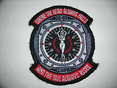 ** Where The Head Always Falls* 00-03 Columbus Air Force Base Patch CAFB (PA25)