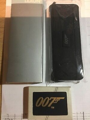 James Bond Pen Set And Pack Of Playing Cards