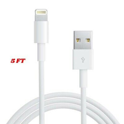 Lightening USB Cable 6Ft 2M For Apple iPhone 6s 6 5s 7 8 x Data Sync Charger