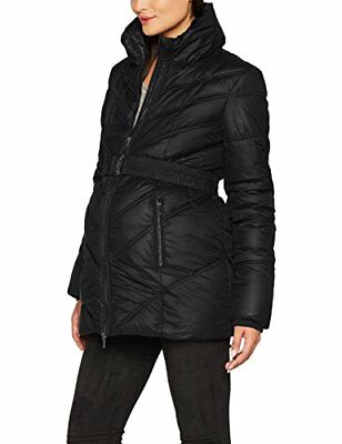 Noppies Jacket Lene 2 70650, Giacca Premaman Donna, Nero (Black C270), 52(Tag...