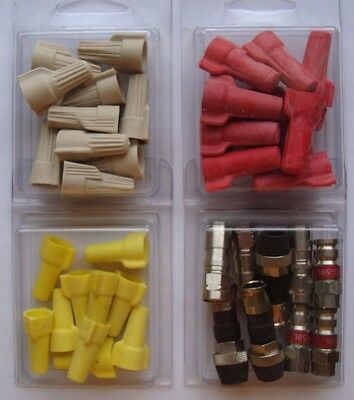 WIRE & CABLE CONNECTORS -Assorted Sizes