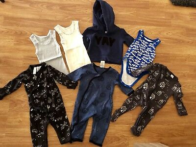 Baby Boy Clothes 000 Bulk Lot