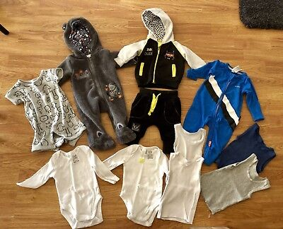Baby Boy Clothes 0000 Bulk Lot