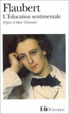 L'Education Sentimentale (Folio) by Flaubert, Gustave Paperback Book The Cheap