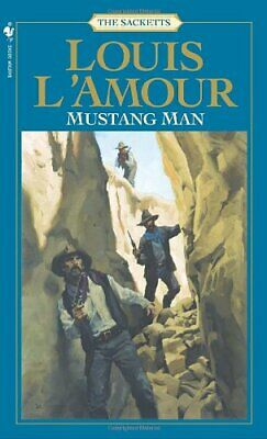 Mustang Man (Sacketts) by L'Amour, Louis Paperback Book The Cheap Fast Free Post