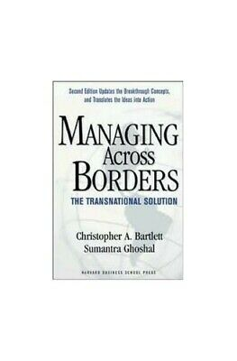 Managing across Borders by Bartlett Hardback Book The Cheap Fast Free Post