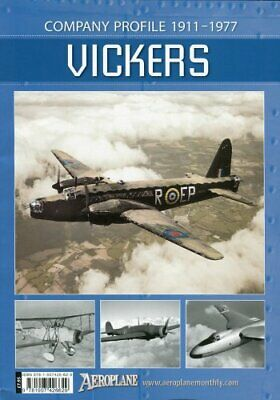 VICKERS - Company profile 1911 to 1977 by Martyn Chorlton Book The Cheap Fast