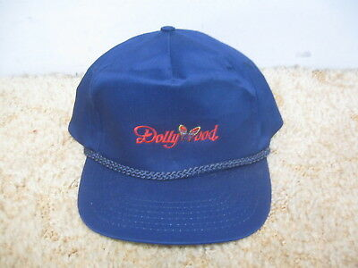 92446789 Vintage 1980's-90's Dolly Wood Snapback Trucker Hat w/Embroidered Stitching