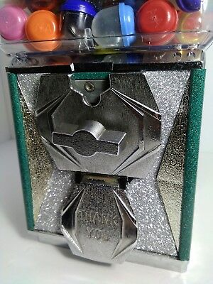 Gumball Machine Silver front display Gumball Machine Candy Toy Nut