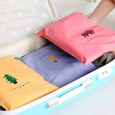 Water Resistant Travel Storage Bags Organizer For Clothe Shoes Underwear 2Size