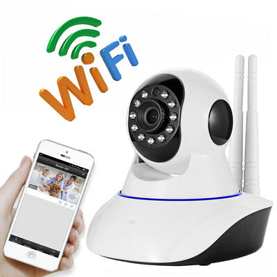 wireless Wifi HD 720P IP Camera IR Night Vision Two Way Audio baby monitor PTZ