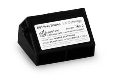Pitney Bowes E700 / G700 Series Postage Meter Ink Cartridge Genuine Red Flouresc