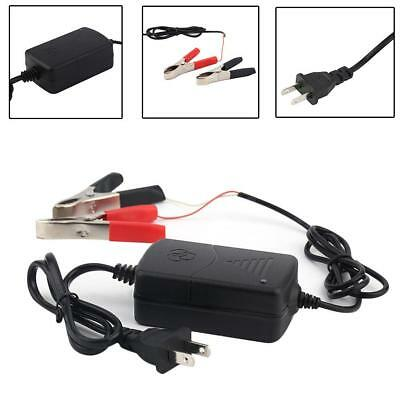 12V Portable Battery Charger Maintainer Tender for Motorcycle Car RV Boat ATV UP