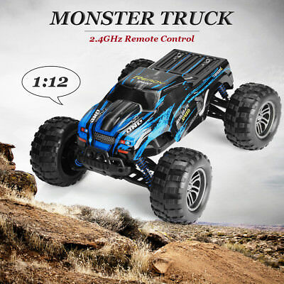 1:12 2.4G 2WD Remote Control Monster Truck Off Road Buggy Race Car Toy RTR RC