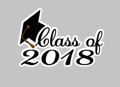 "$2.45-$5.50 FREE SHIPPING CLASS OF 2018 GRAD 1/"" CIRCLES  BOTTLE CAP IMAGES"