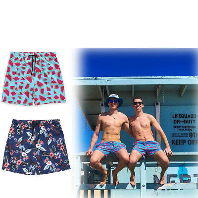 Men's Quick-drying Boardshorts Surf Beach Summer Shorts SwimWear Sports Trunks