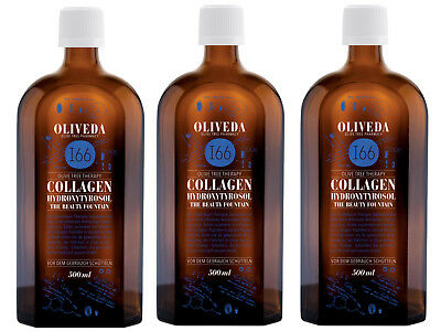(96€/L) Oliveda I66 The Beauty Fountain Olive Tree Collagen 1500ml + BUCH