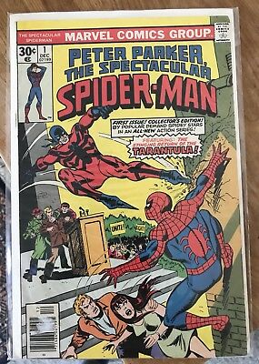 Peter Parker The Spectacular Spider-Man #1_Dec 1976