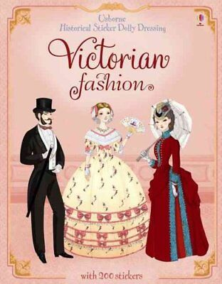 Sticker Dolly Dressing Historical Victorian Fashion by Sam Lake 9781409537229