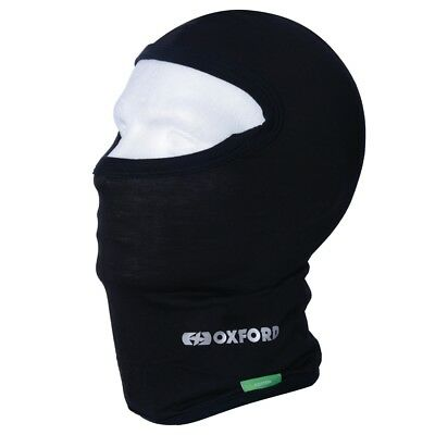 Oxford Deluxe Cotton Balaclava for use Under motorcycle Helmet ON/OFF Bike
