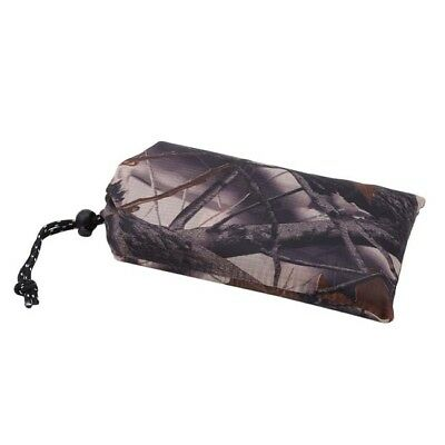 3 In 1 Camping Outdoor Camouflage Raincoat Tent Poncho Matress LG