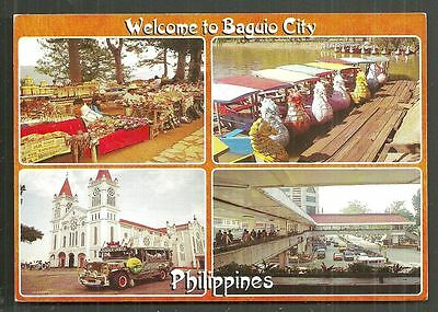Baguio City 4 Views Market Cathedral Luzon Philippines