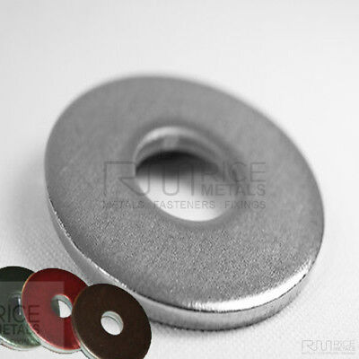 5mm THICK ROUND A4 MARINE GRADE STAINLESS STEEL WASHERS VARIOUS SIZE OPTIONS