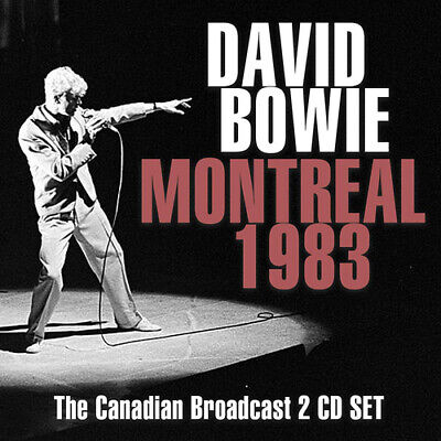 David Bowie : Montreal 1983 CD 2 discs (2018) ***NEW*** FREE Shipping, Save £s