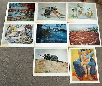U.S Marine Corps Combat Art Print Collection