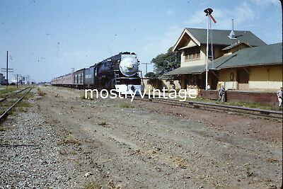 Southern Pacific Railroad Steam Engine 4460 - 10/12/1958 35mm Train Slides