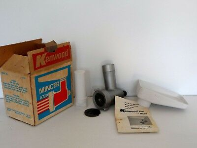 Vintage Kenwood Chef Mincer Attachment A720 Boxed also Kenwood Major