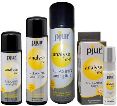 Pjur Analyse Me Silicone Anal Relaxing Lube 30ml 100ml 250ml 20ml Private