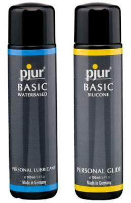 Pjur Basic Value Silcone / Water Lube Lubricant 100ml 250ml Private