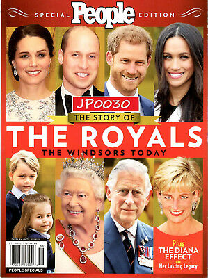 People Special 2018, The Story of The Royals, The Windsors, Brand New,Sealed