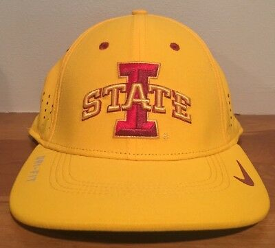 best sneakers 9a667 91a90 Nike Iowa State Cyclones Sideline Fitted Cap Hat Size Small-Medium