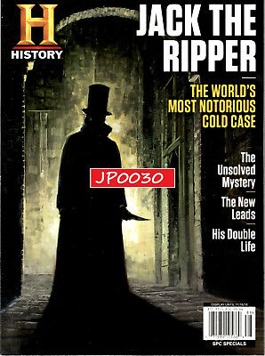 History Channel Magazine 2018, Jack The Ripper, Brand New/Sealed