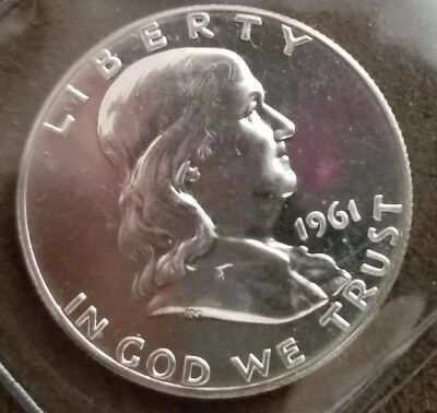 1961 50C (Proof) Franklin Half Dollar